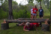 17 Hickory High Girls Varsity Soccer Team at BRM Obstacle Course DSC_0078