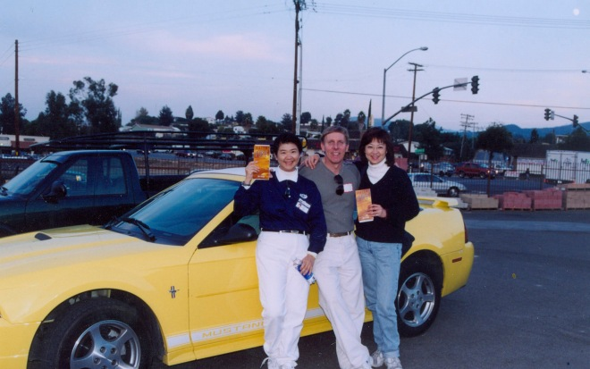 yellow car 0342